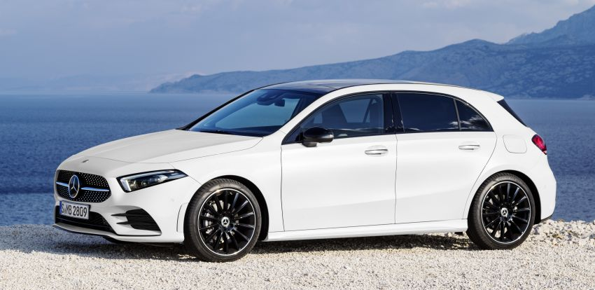 2018 Mercedes-Benz A-Class unveiled, Geneva debut Image #774422