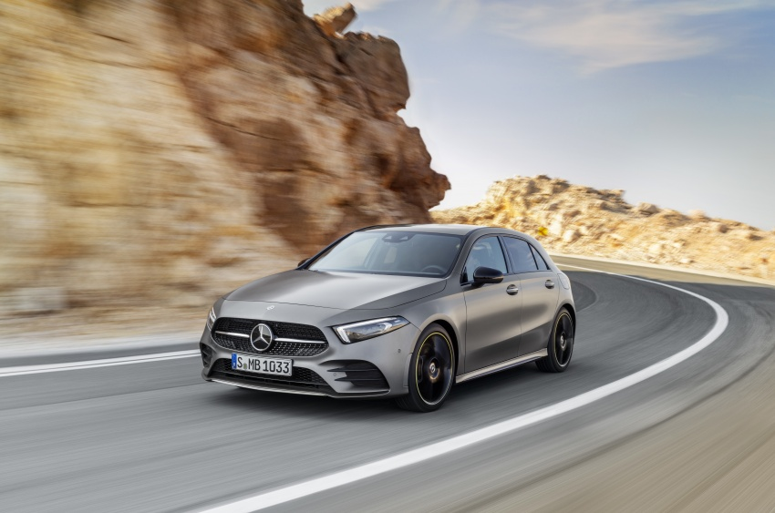 2018 Mercedes-Benz A-Class unveiled, Geneva debut Image #774428