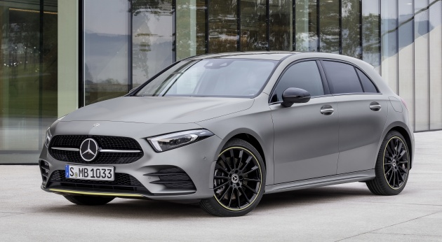 2018 Mercedes Benz A Class Platform To Be Used For Eight New Models