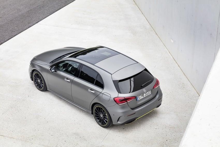 2018 Mercedes-Benz A-Class unveiled, Geneva debut Image #774437