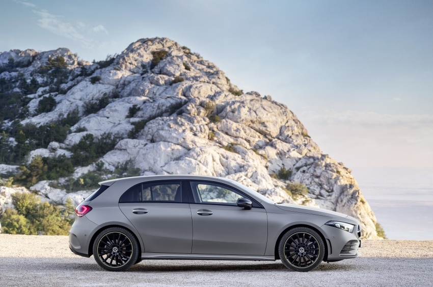2018 Mercedes-Benz A-Class unveiled, Geneva debut Image #774438