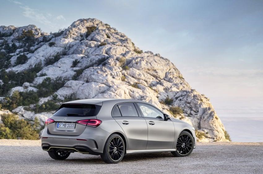 2018 Mercedes-Benz A-Class unveiled, Geneva debut Image #774439