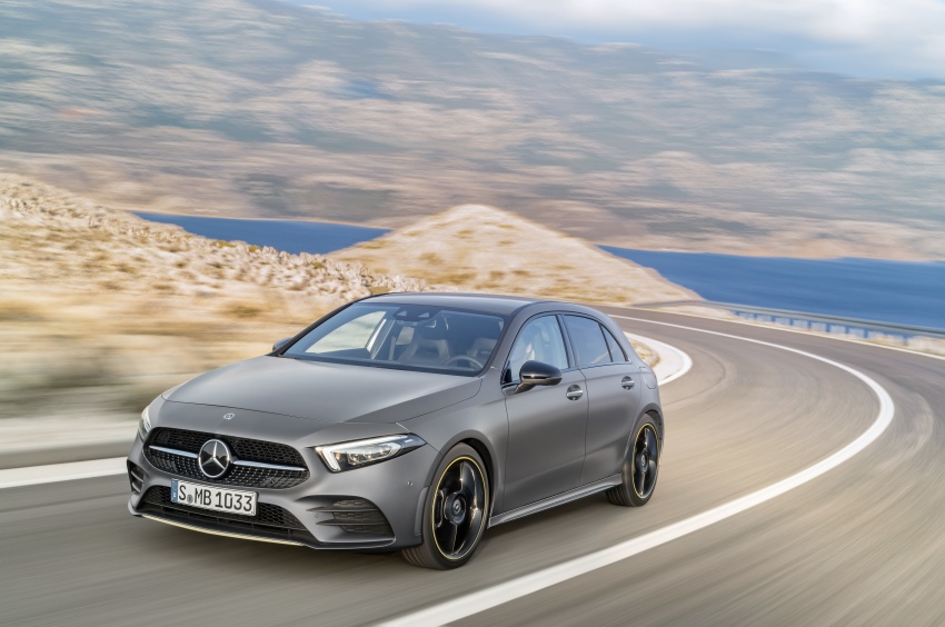2018 Mercedes-Benz A-Class unveiled, Geneva debut Image #774441