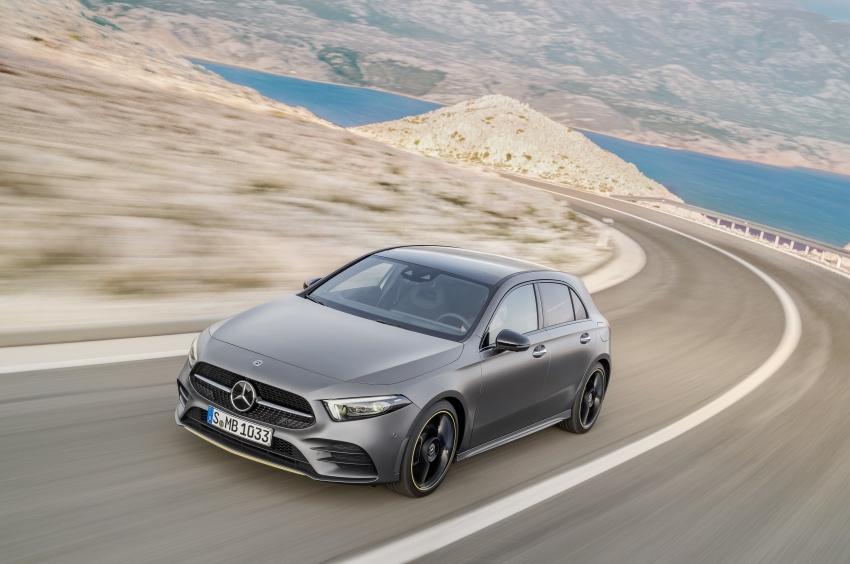 2018 Mercedes-Benz A-Class unveiled, Geneva debut Image #774442