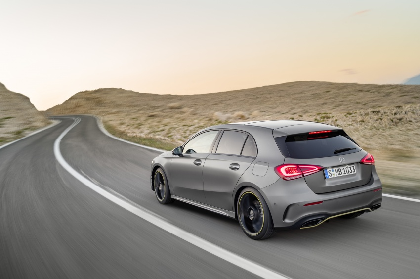 2018 Mercedes-Benz A-Class unveiled, Geneva debut Image #774443