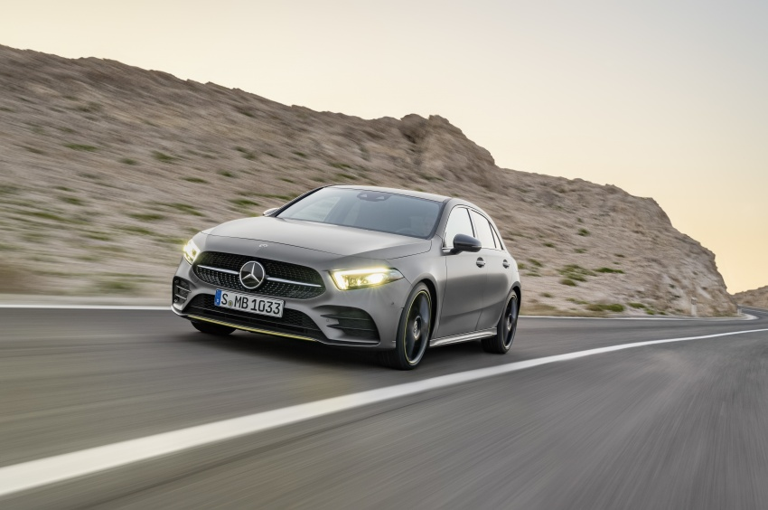 2018 Mercedes-Benz A-Class unveiled, Geneva debut Image #774444