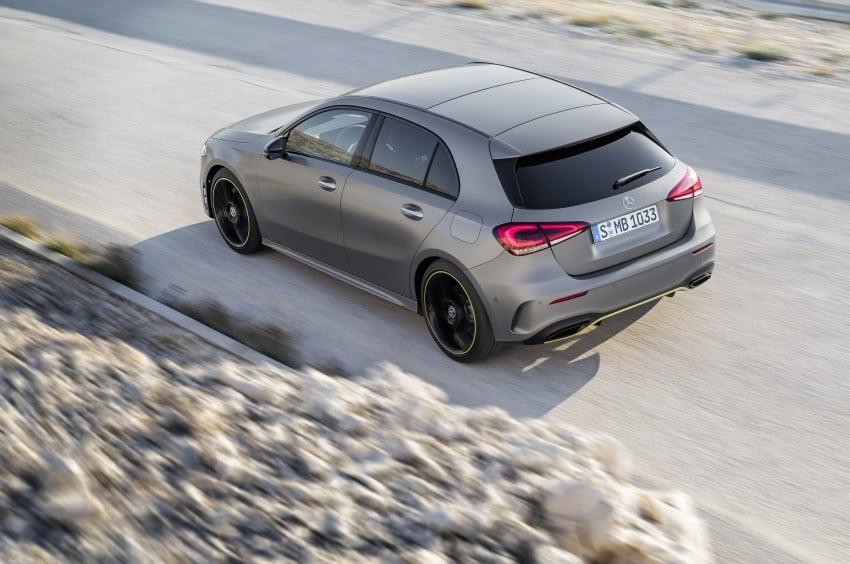 2018 Mercedes-Benz A-Class unveiled, Geneva debut Image #774446