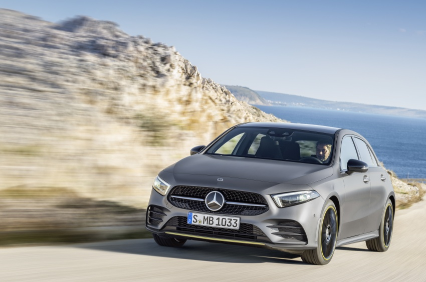 2018 Mercedes-Benz A-Class unveiled, Geneva debut Image #774447