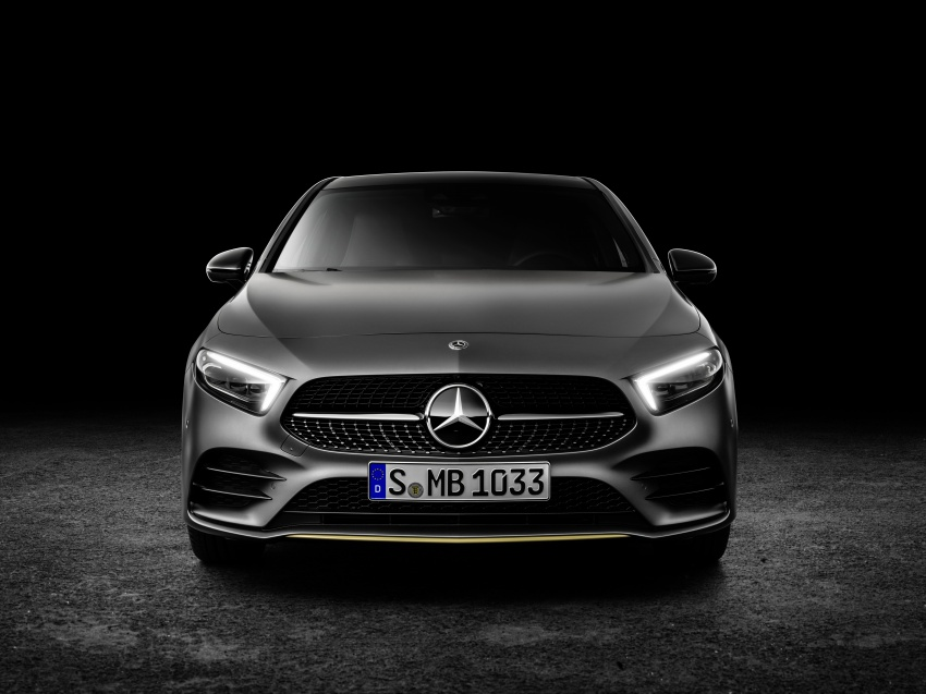 2018 Mercedes-Benz A-Class unveiled, Geneva debut Image #774453