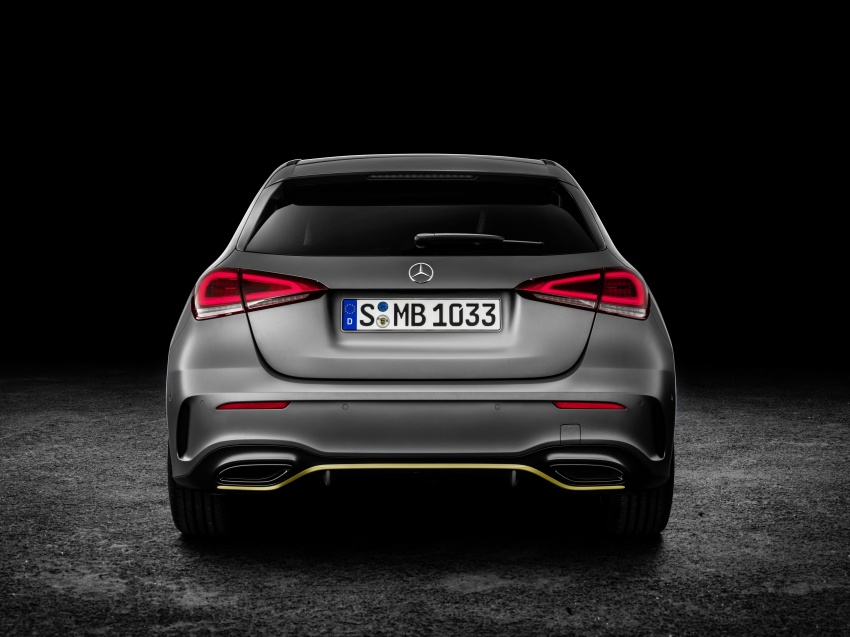 2018 Mercedes-Benz A-Class unveiled, Geneva debut Image #774456