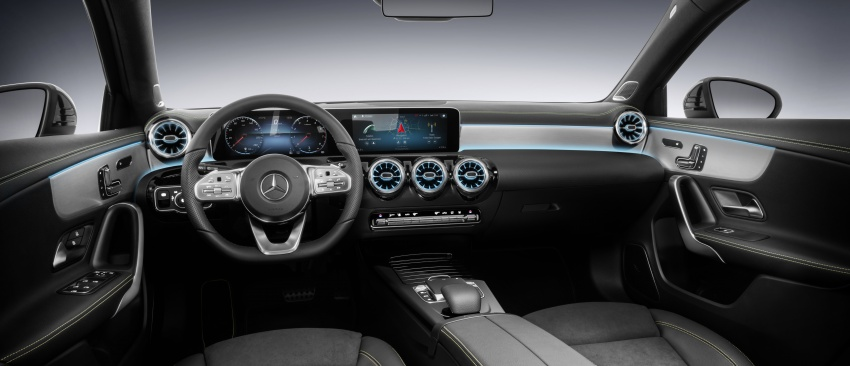 2018 Mercedes-Benz A-Class unveiled, Geneva debut Image #774459