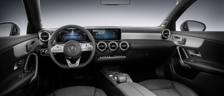 2018 Mercedes-Benz A-Class unveiled, Geneva debut Image #774463
