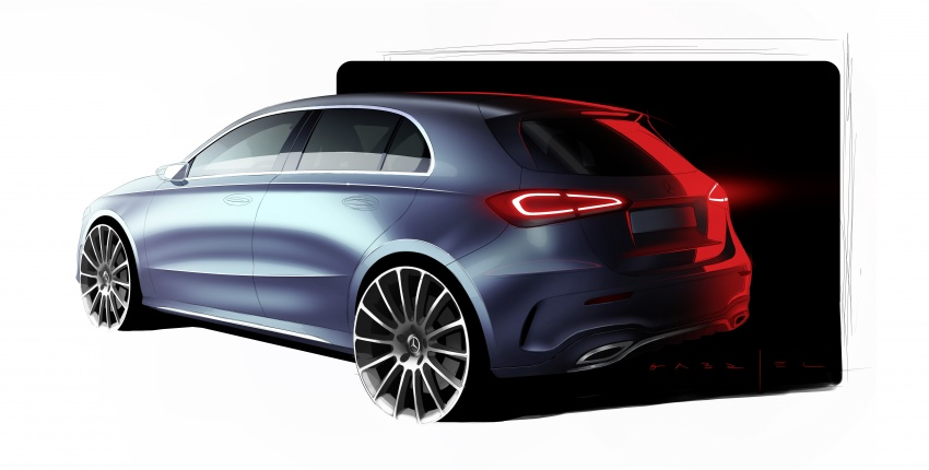 2018 Mercedes-Benz A-Class unveiled, Geneva debut Image #774474