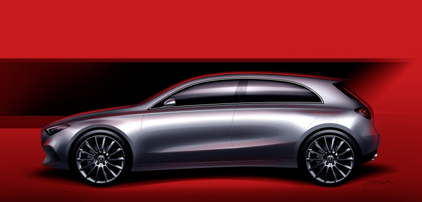 2018 Mercedes-Benz A-Class unveiled, Geneva debut Image #774475
