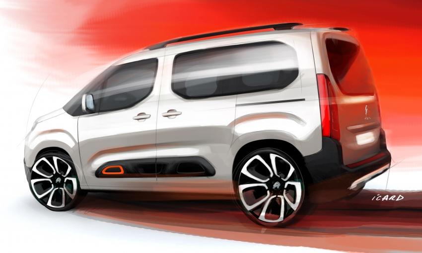 2018 Citroën Berlingo – new design, EMP2 platform Image #782158
