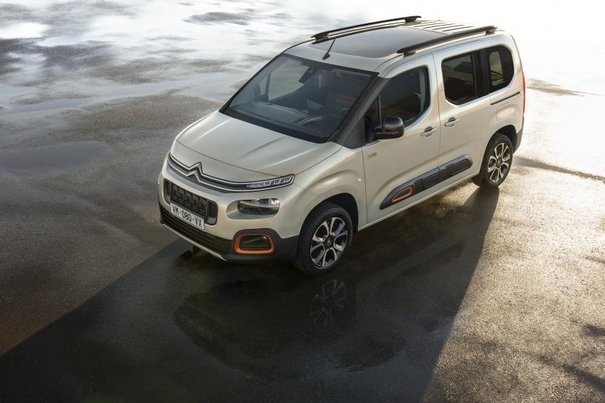 2018 Citroën Berlingo – new design, EMP2 platform Image #781937