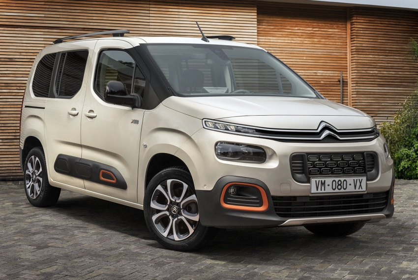 2018 Citroën Berlingo – new design, EMP2 platform Image #781938