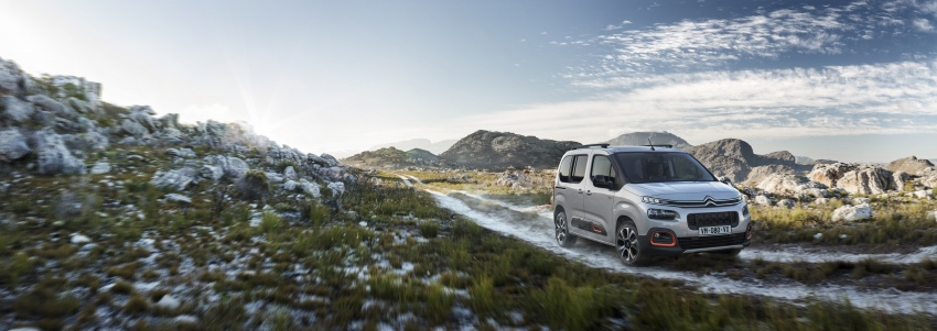 2018 Citroën Berlingo – new design, EMP2 platform Image #781944