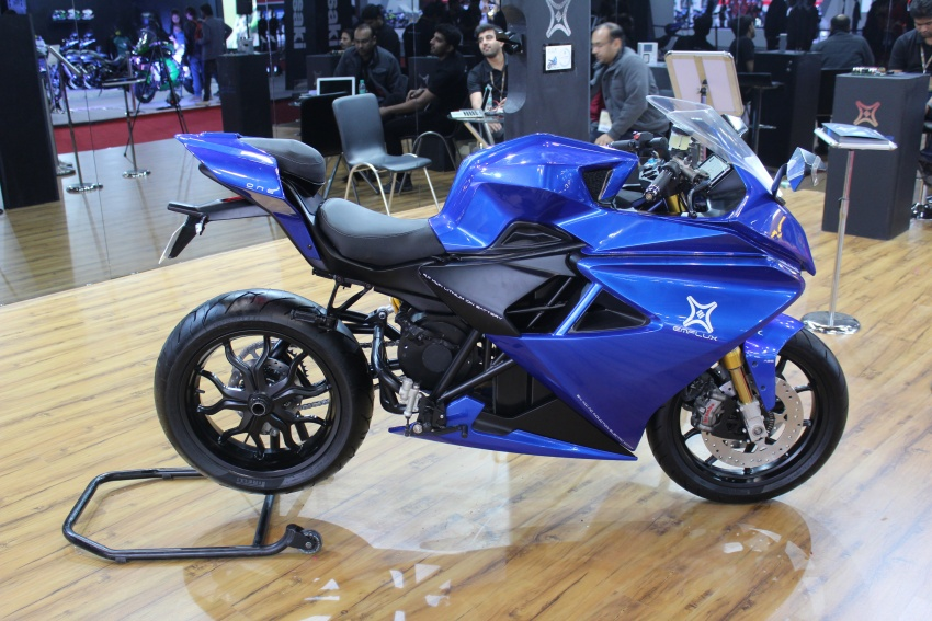 2018 Emflux One from India enters e-bike market Image #778153