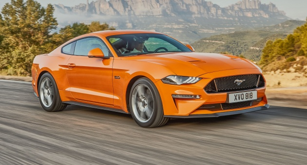 Ford Australia Has Announced That The Facelifted S550 Mustang Will Go On Down Under In Second Half Of Year Sixth Gen Pony Car Gets A