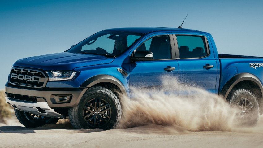 Ford Ranger Raptor debuts in Thailand – new 2.0L biturbo diesel, 213 PS, 500 Nm; 10-speed automatic! Image #776601