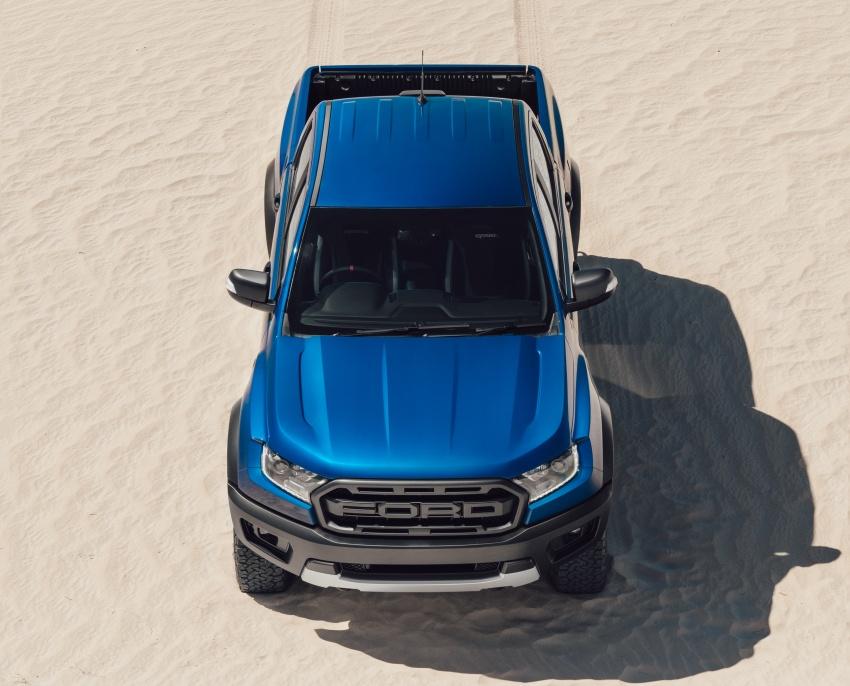 Ford Ranger Raptor didedahkan di Thai – 2.0L diesel, 2 pengecas turbo, 213 PS/500 Nm, 10-kelajuan auto! Image #776724