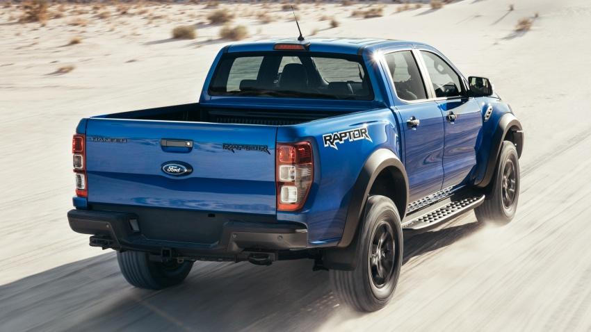 Ford Ranger Raptor didedahkan di Thai – 2.0L diesel, 2 pengecas turbo, 213 PS/500 Nm, 10-kelajuan auto! Image #776723