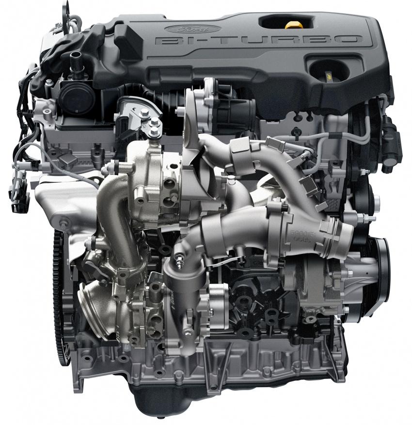Ford Ranger Raptor didedahkan di Thai – 2.0L diesel, 2 pengecas turbo, 213 PS/500 Nm, 10-kelajuan auto! Image #776722