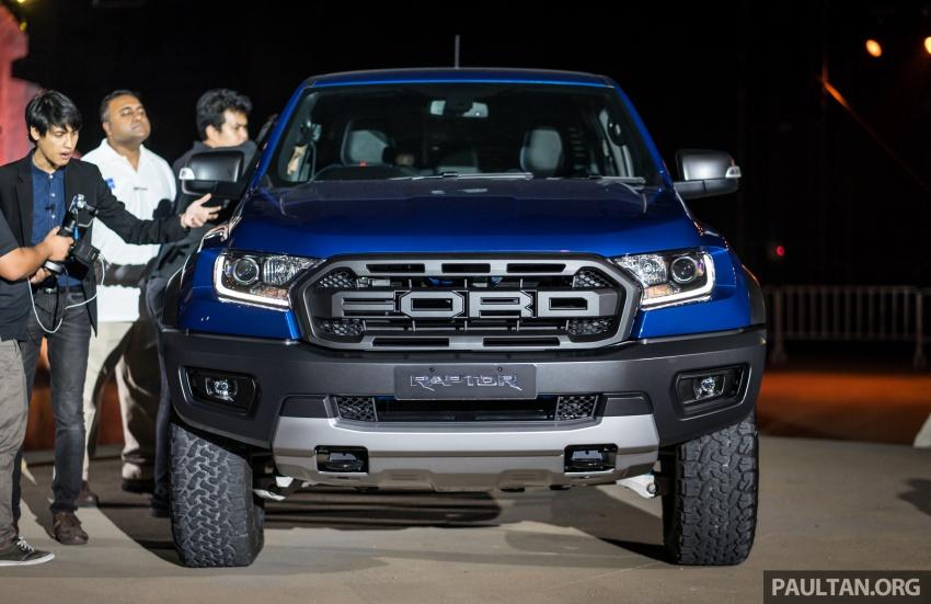 Ford Ranger Raptor didedahkan di Thai – 2.0L diesel, 2 pengecas turbo, 213 PS/500 Nm, 10-kelajuan auto! Image #776721