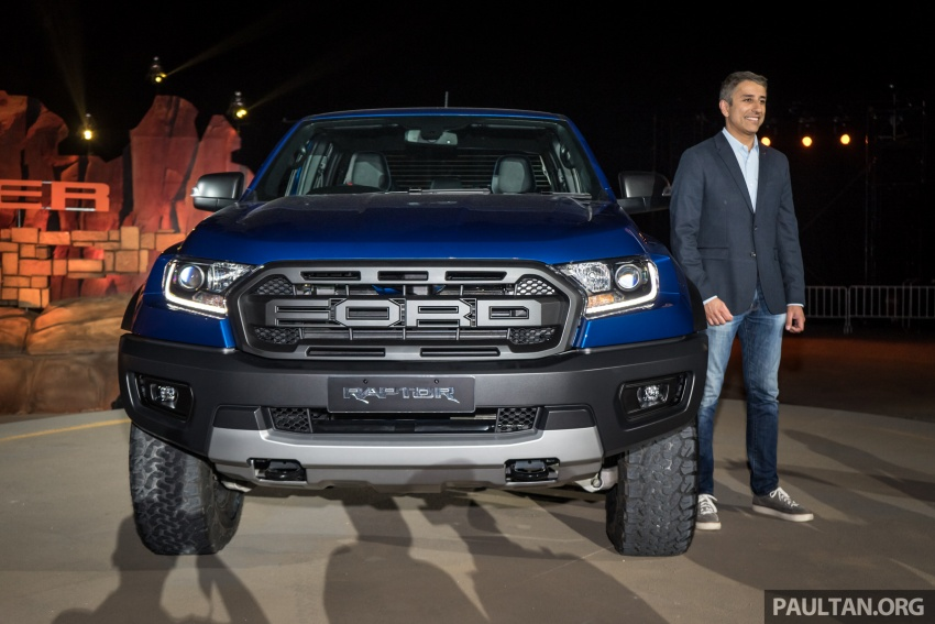 Ford Ranger Raptor debuts in Thailand – new 2.0L biturbo diesel, 213 PS, 500 Nm; 10-speed automatic! Image #776645
