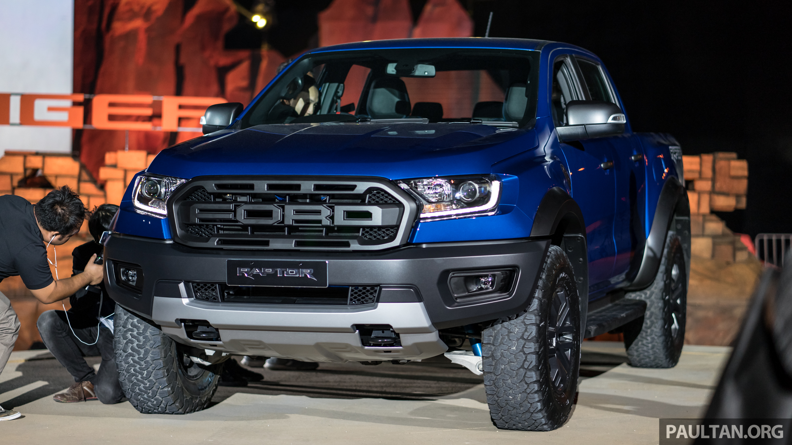 First Look 2018 Ford Ranger Raptor In Thailand World Blogs