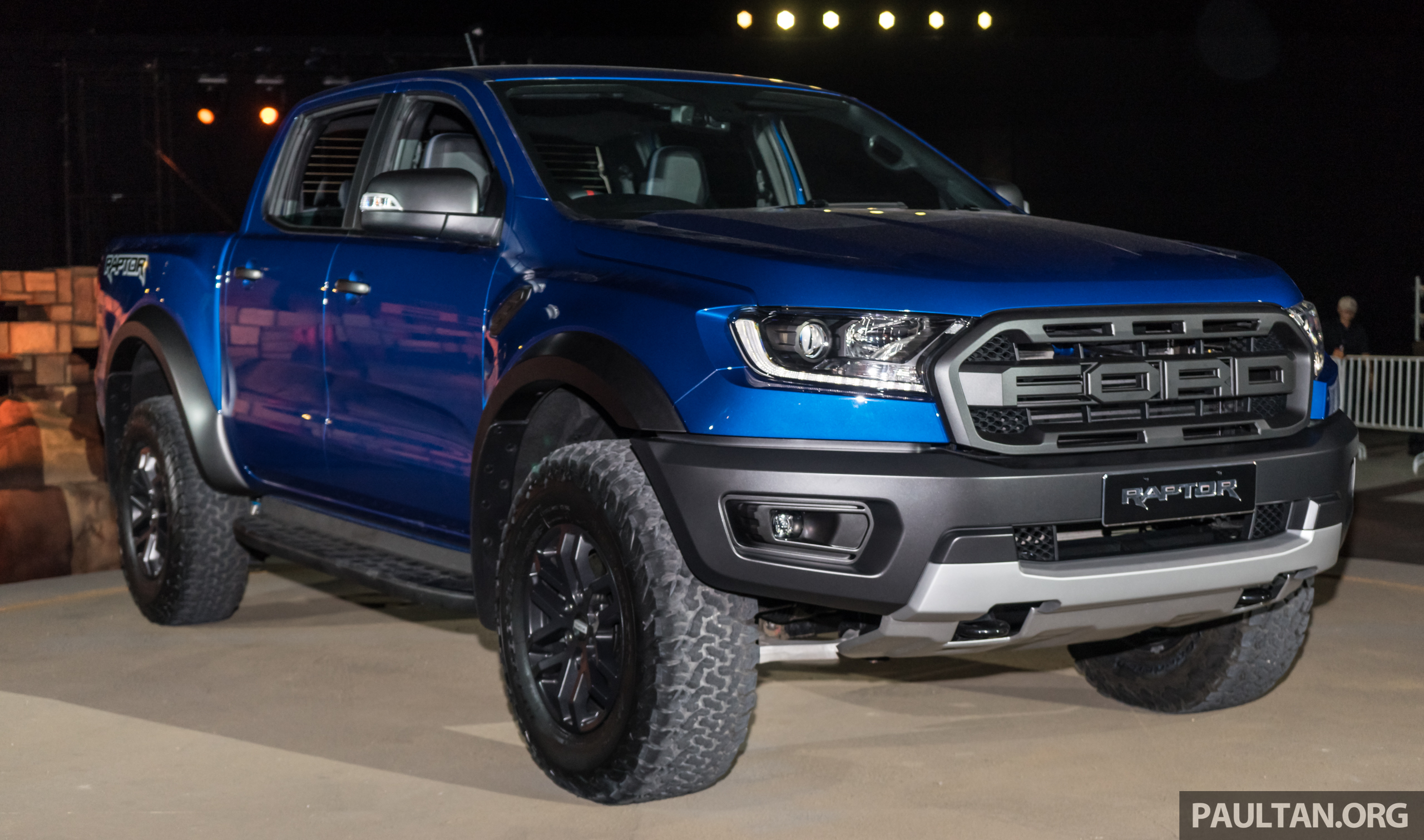 ford ranger raptor didedahkan di thai 2 0l diesel 2 pengecas turbo 213 ps 500 nm 10. Black Bedroom Furniture Sets. Home Design Ideas