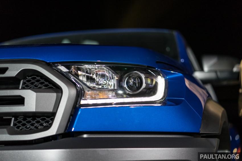 Ford Ranger Raptor didedahkan di Thai – 2.0L diesel, 2 pengecas turbo, 213 PS/500 Nm, 10-kelajuan auto! Image #776714