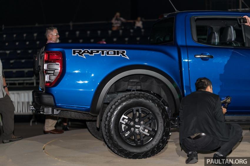 Ford Ranger Raptor didedahkan di Thai – 2.0L diesel, 2 pengecas turbo, 213 PS/500 Nm, 10-kelajuan auto! Image #776710