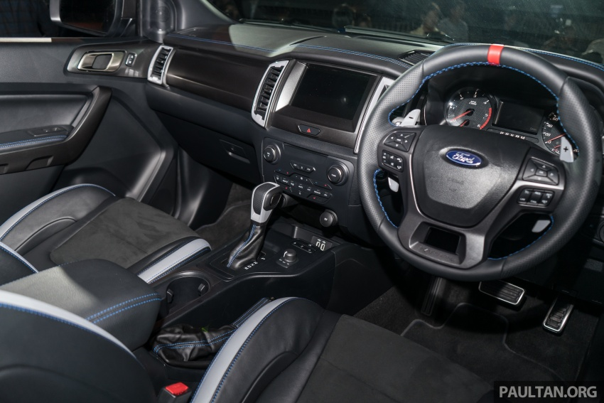 Ford Ranger Raptor debuts in Thailand – new 2.0L biturbo diesel, 213 PS, 500 Nm; 10-speed automatic! Image #776661