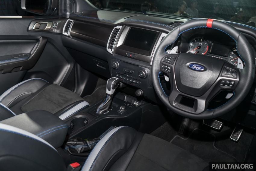 Ford Ranger Raptor didedahkan di Thai – 2.0L diesel, 2 pengecas turbo, 213 PS/500 Nm, 10-kelajuan auto! Image #776705