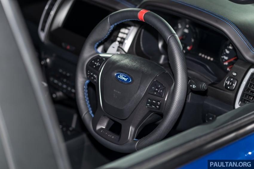 Ford Ranger Raptor didedahkan di Thai – 2.0L diesel, 2 pengecas turbo, 213 PS/500 Nm, 10-kelajuan auto! Image #776703