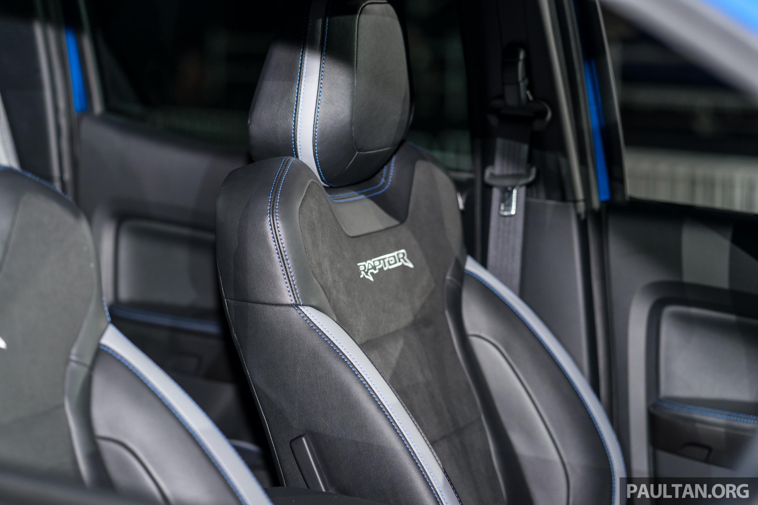 Ford raptor blue 2019
