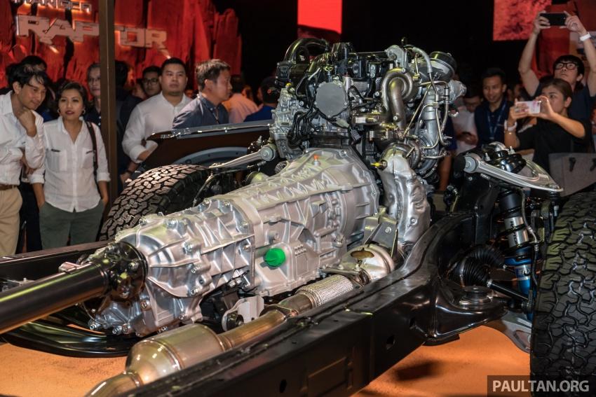 Ford Ranger Raptor didedahkan di Thai – 2.0L diesel, 2 pengecas turbo, 213 PS/500 Nm, 10-kelajuan auto! Image #776691