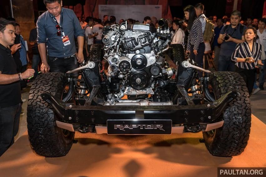 Ford Ranger Raptor didedahkan di Thai – 2.0L diesel, 2 pengecas turbo, 213 PS/500 Nm, 10-kelajuan auto! Image #776690