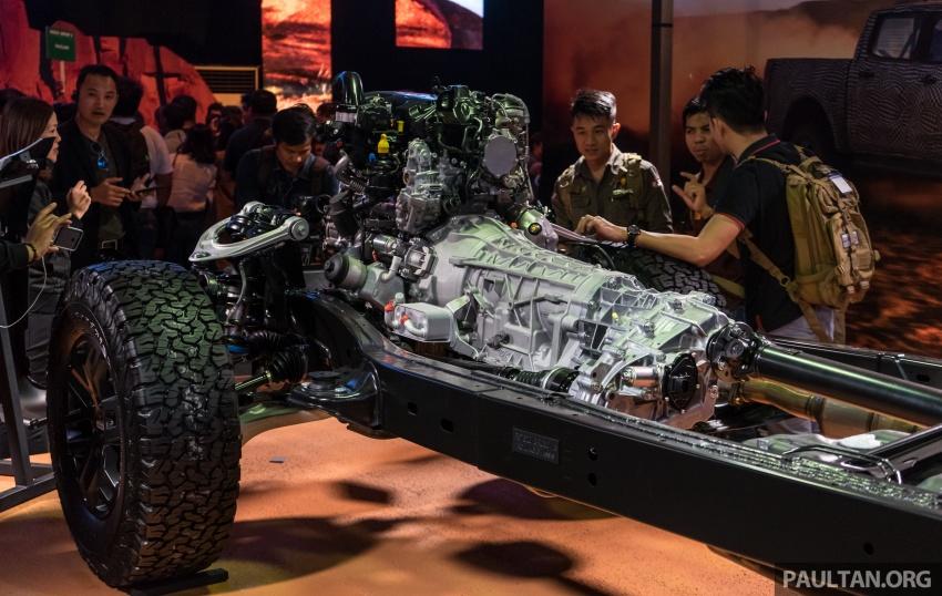Ford Ranger Raptor didedahkan di Thai – 2.0L diesel, 2 pengecas turbo, 213 PS/500 Nm, 10-kelajuan auto! Image #776686