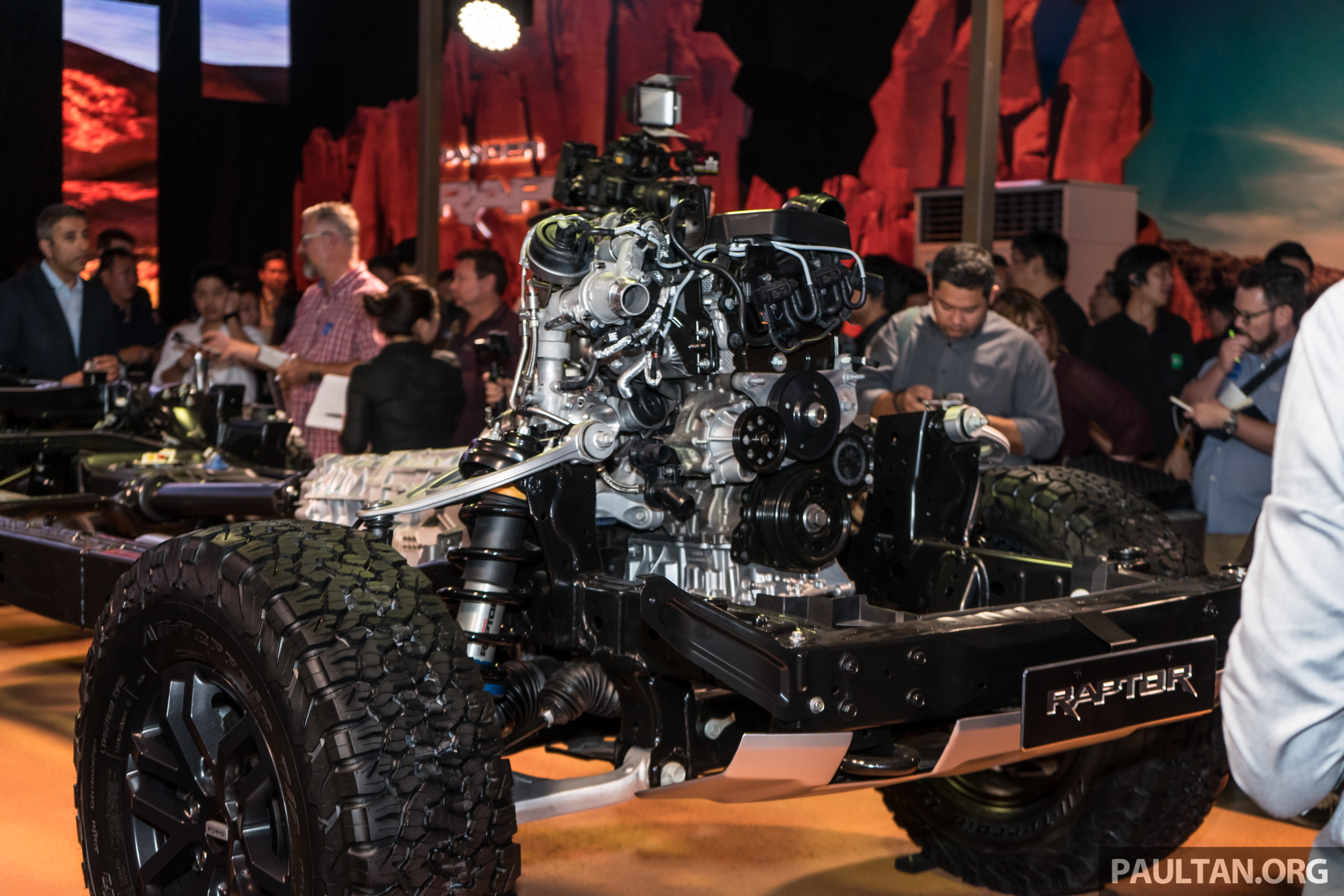 Ranger Raptor Engine Production Starts In Struandale Leisure Wheels