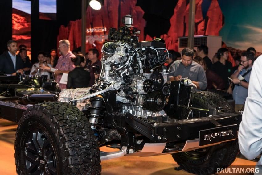 Ford Ranger Raptor didedahkan di Thai – 2.0L diesel, 2 pengecas turbo, 213 PS/500 Nm, 10-kelajuan auto! Image #776685