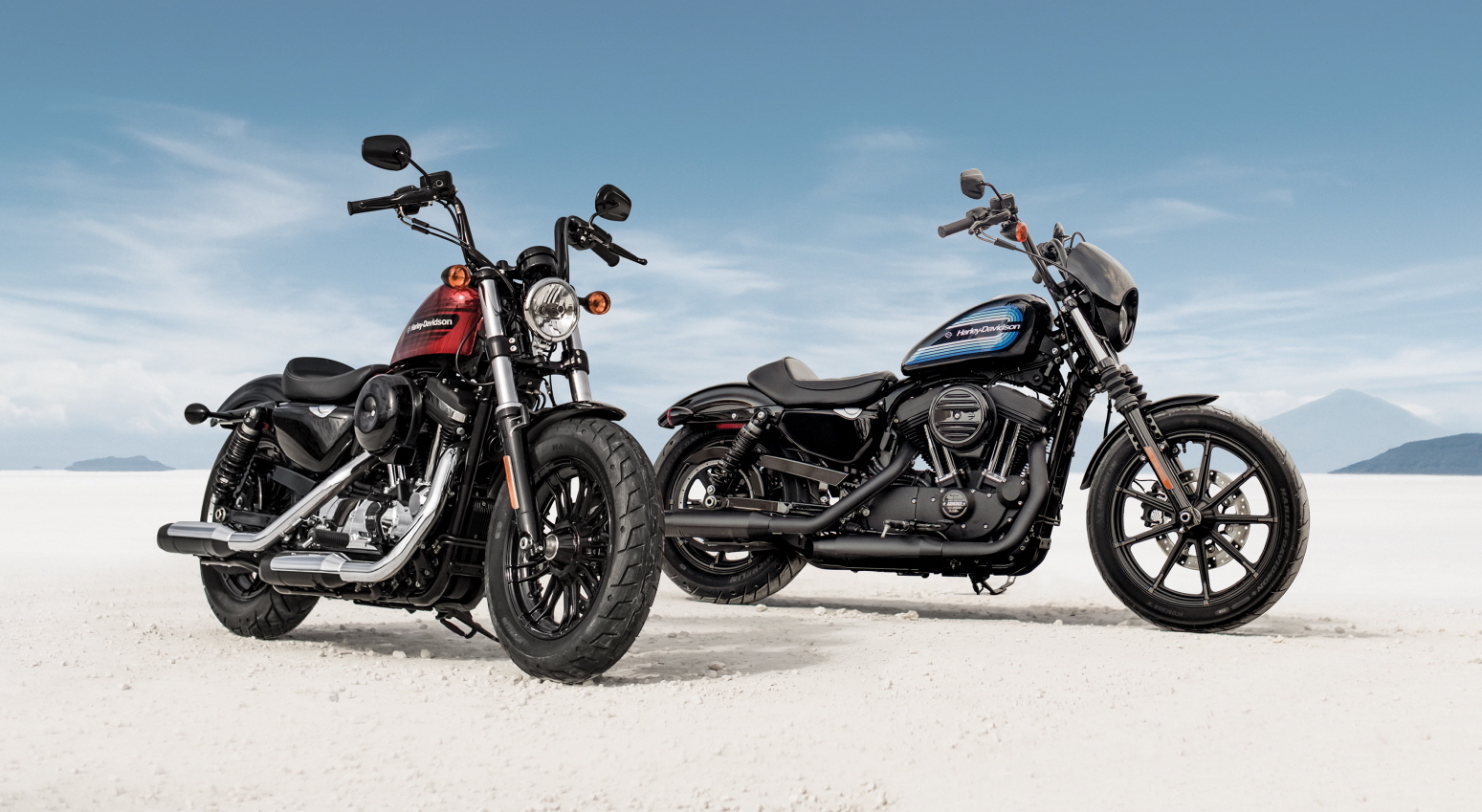 2018 harley davidson forty eight special and iron 1200. Black Bedroom Furniture Sets. Home Design Ideas
