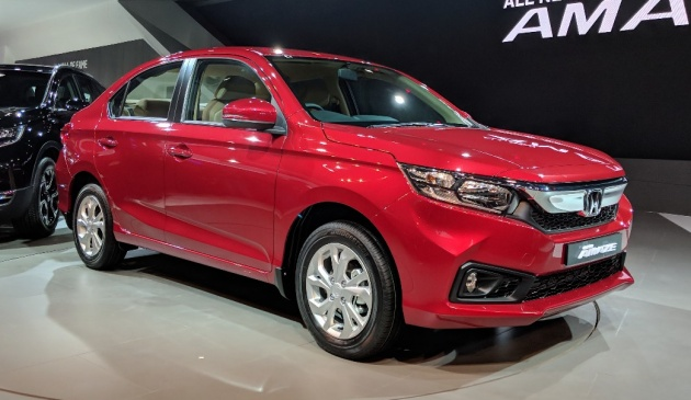 The Second Generation Honda Amaze Made Its Debut Recently At Auto Expo 2018 And We Re Now Bringing You Live Images Of Pint Sized Sedan Courtesy