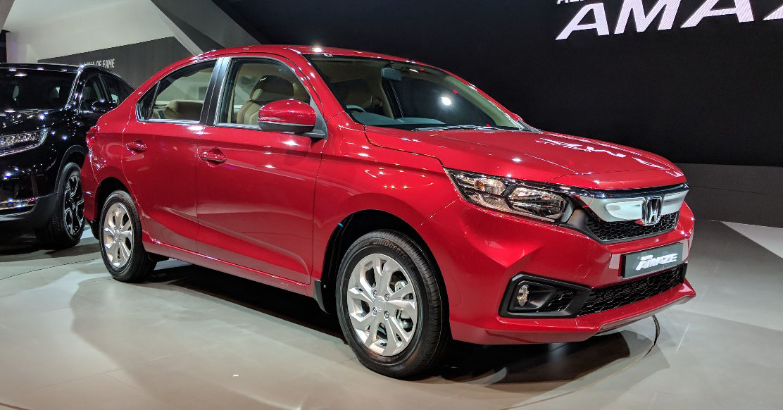 Honda Civic Facelift 2019 >> GALLERY: 2018 Honda Amaze - new interior on show