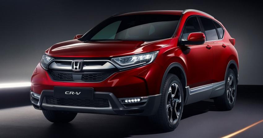 Honda CR-V for European markets revealed ahead of Geneva show – i-MMD hybrid system, 7-seat option Image #784381