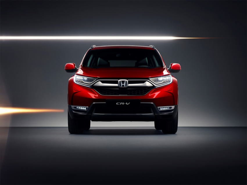 Honda CR-V for European markets revealed ahead of Geneva show – i-MMD hybrid system, 7-seat option Image #784383