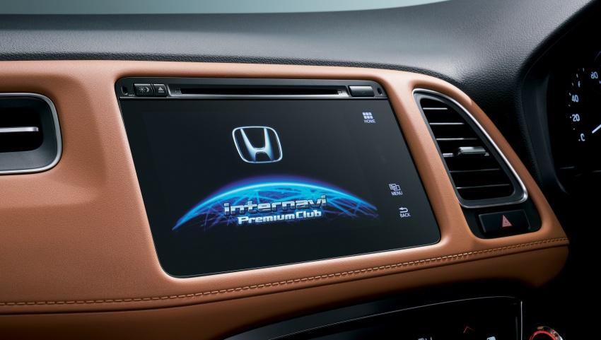 Honda HR-V facelift 2018 muncul di Jepun – Honda Sensing standard untuk semua varian, RM76k-RM103k Image #780045