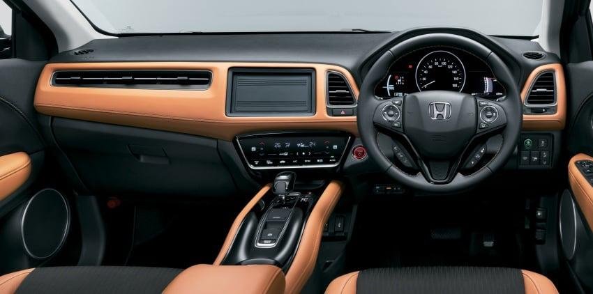 Honda HR-V facelift 2018 muncul di Jepun – Honda Sensing standard untuk semua varian, RM76k-RM103k Image #780013